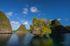 Shapes of the Raja Ampat islands