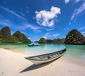 Boats at Wayag islands, Raja Ampat, Indonesia #4