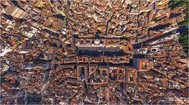 Piazza Navona from the altitude of 160 meters