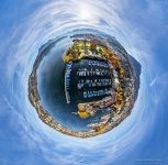 Yacht port. Planet