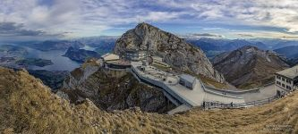 Station at the top of the Mount Pilatus #1