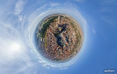 Planet of Segovia Cathedral