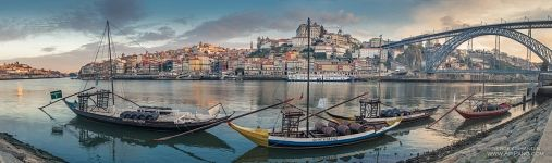 Panorama of the Douro River