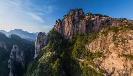 Huangshan mountains. Grand Canyon