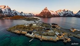 Reine fishing village