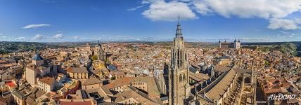 Panorama of Toledo Cathedral