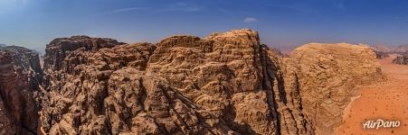 Rocks of Wadi Rum