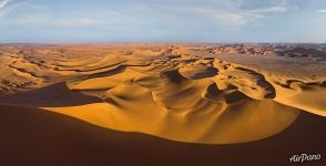 Fantastic landscapes of Sahara Desert