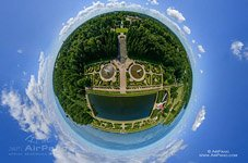 Peterhof, Great Marly Pond and Bacchus Garden