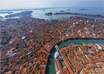 Top view of Venice