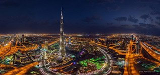 Burj Khalifa at night #1