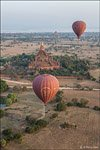 Balloon flight in Bagan #8