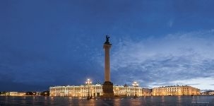 Palace Square at night #3