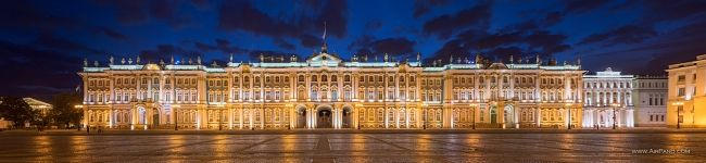 Winter Palace at night #1